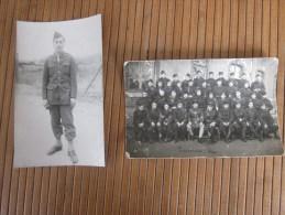 MILITARIA Photo Photographie /Carte Postale RPPC -- Militaire Transmission 1940 Guerre  1939-45 - Guerre, Militaire