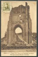 N°166 - 2 Centimes Olive Obl. Sc YPRES S/C.V. Du 12-VIII-1920 Vers Deurne - 9675 COB 125 Euros - 1919-1920 Roi Casqué