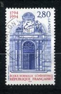 CACHET ROND SUR N° 2907 ECOLE NORMALE SUPERIEURE - France