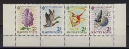 Ungarn Michel No. 2053 - 2056 A ** postfrisch Viererstreifen