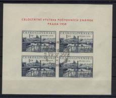 CSSR Michel No. 630 gestempelt used Viererblock