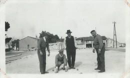 27x   Photo Jeu De Boules Partie De Petanque En 1938 - Pétanque