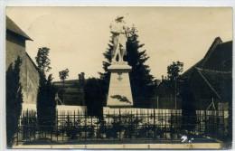 71 - CHISSEY EN MORVAN - Photo Carte, Inauguration Du Monument Aux Morts En Juin 1923 - Francia