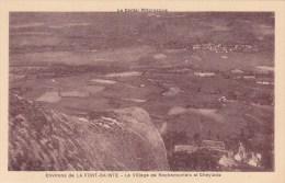 CPA 15 @ CHEYLADE @ La Font Sainte - Le Village De Rochemonteix Et Cheylade @ Le Cantal Pittoresque - France