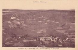 CPA 15 @ CHEYLADE @ La Font Sainte - La Vallée Et Cheylade @ Le Cantal Pittoresque - France