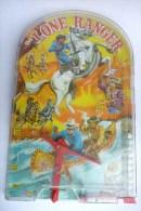 RARE FLIPPER MANUEL - MARX TOYS - LONE RANGERS  60's - 70's - Toy Memorabilia