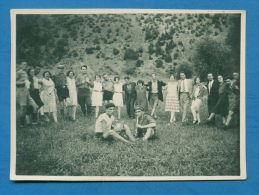 140314 / Real Photo - MUSIC Kaval, Kavalli, Kavala Kawala , Dayereh Doyre Daira DANCE HORO PEOPLE - Bulgaria Bulgarie - Dance
