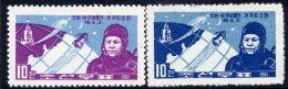 NORTH KOREA 1961 Space Flight Of Gagarin Set Of 2  MNH / (*).  Sc. 329-30, SG 317-18 - Korea, North