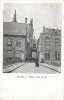 Cpa/pk Fotokaart 1905 Bruges Brugge Pont De L´Ane Aveugle - Brugge