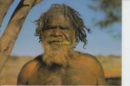 Australian Aborigine   Jimmy Walkabout A Member Of The Pitjantjara Tribe - Aborigènes