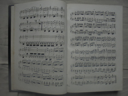 Livre Partition LA FAVORITE Opéra En 4 Actes Musique De DONIZETTI Arrangée Par WAGNER - Opern