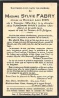 Sylvie Fabry - Famagne ( Marchin ) - Solières ( Ben-Ahin ) 1935 - E. De Léon Dion - Décès