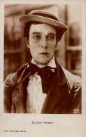 CINÉMA ANCIEN : BUSTER KEATON - CARTE ´VRAIE PHOTO´ ~ 1920 - ´30 : ROSS VERLAG (p-491) - Acteurs