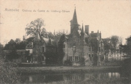 Cpa/pk 1908 Rumbeke Roeselare Roulers Château Du Comte De Limburg-Stirum De Brauwer - Roeselare