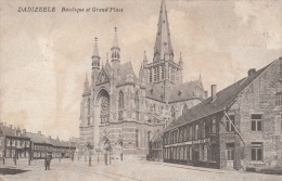 Cpa/pk Fotokaart 1916 Dadizeele Dadizele Basilique Et Grand ´ Place - Menen