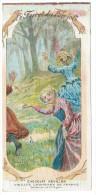 Chromo Chocolat Révillon - Les Vieilles Chansons De France - Le Furet Du Bois Joli - Illustration Maurice Leloir - Revillon