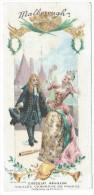 Chromo Chocolat Révillon - Les Vieilles Chansons De France - Malborough - Illustration Maurice Leloir - Revillon