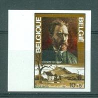 BELGIE - OBP Nr 1725 - ONGETAND/NON-DENTELE (met Nummer) - Vincent Van Gogh - MNH**  - Cote 12,50 € - Belgium