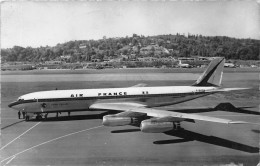 "AVION.  BOEING 707 ""INTERNATIONAL"".  AIR FRANCE.  LONG COURRIER QUADRIREACTEUR. - 1946-....: Moderne"