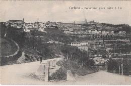 R1-903 - CORTONA - DALLE 5 VIE - AREZZO - F.P. VG.  A. 1918 - Arezzo