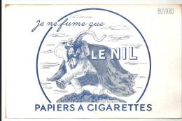 Buvard, Je Ne Fume Que LE NIL Papiers à Cigarettes - Tobacco