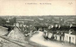 CPA CULAN , Rue Du Faubourg - Culan