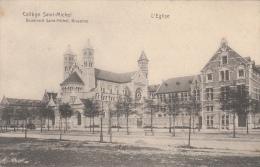 Cpa/pk 1911 Brussel Bruxelles Collège Saint-Michel Boulevard L'Eglise - Monumenti, Edifici