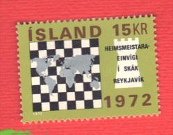 ISLANDE 1972 Neuf** Echecs Echec Chess Ajedrez Schach Scacchi - Chess