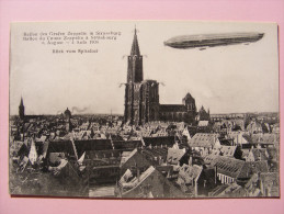 CPA - Strasbourg (67) - Zeppelin - Vol Du Ballon Du Comte Zeppelin 4 Aout 1908 - Strasbourg