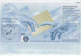Italia Italy. Coupon Réponse/reply Coupon Mod. Pekino II Posta Militare PM Missione ISAF Afghanistan (CR30). - 2001-10: Marcophilie