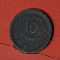 PORTUGAL  10  CENTAVOS  1925   KM# 573  -    (Nº04755) - Portugal
