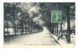 Cp, 75, Paris, Passy, Avenue Henri Martin, Voyagée 1913 - France