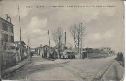 BRUNOY (91 - Essonne) - Ateliers Bedel - Route De Brie Et Ancienne Route De Mandres (Animée, Personnes, Enfants, Rue ) - Brunoy