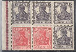 Deutsches Reich Zusammendruck Mi  H - Blatt 21 * - Siehe Scan - Alemania
