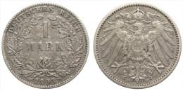 1 Mark 1893 F (German Empire) Silver - [ 2] 1871-1918: Deutsches Kaiserreich
