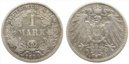 1 Mark 1894 G (German Empire) Silver - [ 2] 1871-1918 : German Empire