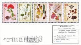 New Zealand - 2012 - Native Trees - Mint Souvenir Sheet - Ongebruikt