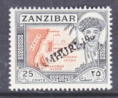 ZANZABAR   289 A    ** - Zanzibar (1963-1968)