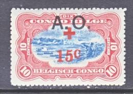 BELGIUM  OCCUPATION  EAST  AFRICA  N B 2  * - Belgian Congo