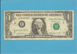 U. S. A. - 1 DOLLAR - 1981 - Pick 468a - BANK OF RICHMOND - VIRGINIA - Billetes De La Reserva Federal (1928-...)