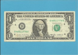 U. S. A. - 1 DOLLAR - 1985 - Pick 474 - BANK OF CLEVELAND - OHIO - Federal Reserve Notes (1928-...)