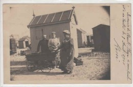 62-30475 -  BERCK - PLAGE   -  Sur La Plage,les Cabines,le Landeau En 1906 - Berck