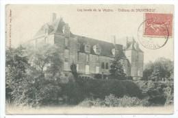 CPA -LES BORDS DE LA VEZERE -CHATEAU DE SAUVEBOEUF -Dordogne (24) -Poussarie Montignac, Imp. Editeur - Autres Communes