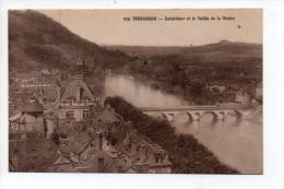 CPA 24 TERRASSON Saint Seur Et La Vallée De La Vézère , Carte Très Rare - Sonstige Gemeinden