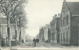 Warneton - Faubourg De Lille - 1906 ( Voir Verso ) - Komen-Waasten