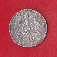 ZWEI MARK  DEUTSCHES REICH  1901 E  ALBERT KOENIG VON SACHSEN - [ 3] 1918-1933 : Republique De Weimar