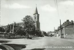 Havelange - L'Eglise Et La La Place Du Marché ( Voir Verso ) - Havelange