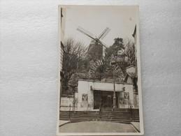 CPA  75 PARIS MONTMARTRE  75018 - Le Moulin De La Galette  - Guinguette  Dancing Bal Vers 1950 - Arrondissement: 18