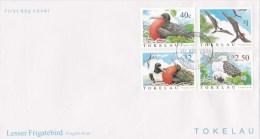 Tokelau 2004 Lesser Frigatebird FDC - Tokelau