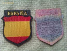 Parche De Brazo De La División Azul. 2ª Guerra Mundial. España. - Escudos En Tela